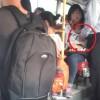 Sốc với clip nam thanh niên sờ ngực bạn gái trên xe bus